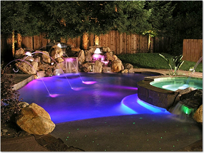 Outdoor Lighting For Swimming Pools