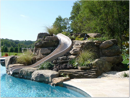 Accurate pool and spas pool slides watertown wisconsin - Commercial swimming pool water slides ...
